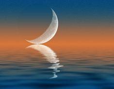 Využívajte myseľ k tomu, aby ste zachytili podstatu celku The Power Path, Moon Circle, Spiritual Warrior, Cancer Moon, Reference Images, New Moon, Paths, Reflection, Stock Photos