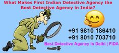 First Indian Detective Agency in Delhi (FIDA) is India's top private detective agency in Delhi NCR, India. We Offer Pre and Post matrimonial, personal and corporate investigation services in all over the India. Personal Investigation, Detective Agency, Private Investigator, Investigations, Knowledge, Cases, Study, India, Studio