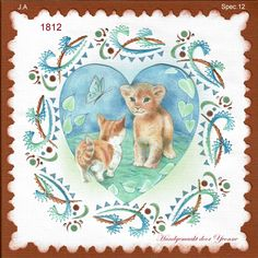 Paper Embroidery, Stitch Patterns, Teddy Bear, Stitches, Cards, Animals, Stitching, Animales, Animaux