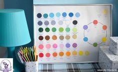 Как научить ребенка различать цвета и оттенки
