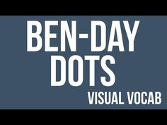 Ben-Day Dots defined - From Goodbye-Art Academy - YouTube