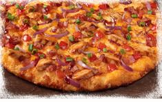 The #BBQ Chicken Pizza is the greatest way to kick off #summer!