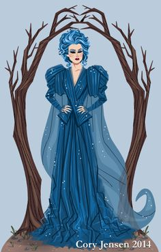 Meryl Streep as the Witch in Into The Woods. I am way excited about this movie! :)