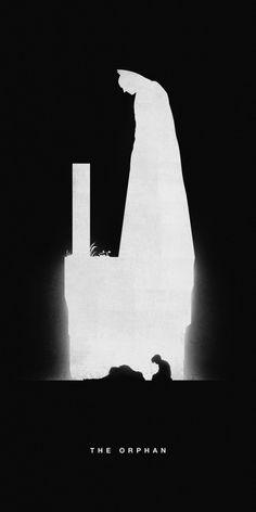 Affiches silhouettes de Khoa Ho - Batman