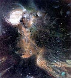 "MAGIC!! ""NightWatcher"" by Susan Seddon Boulet"
