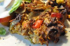 Bagenørden serverer et lækkert krydret farsbrød rørt med pesto, porrer, cheddar og bacon. Nem at lave og mad nok til to dage. Din familie bliver ellevild!
