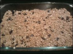 Sunny Raisin Breakfast Bars!! Yummy!