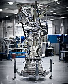 Elon Musk's Mission to Mars BY CHRIS ANDERSON A Merlin engine Photo: Art Streiber