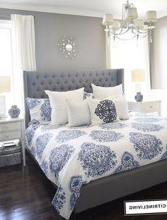 Bedroom bedding and decor - https://bedroom-design-2017.info/decorations/bedroom-bedding-and-decor.html. #bedroomdesign2017 #bedroom