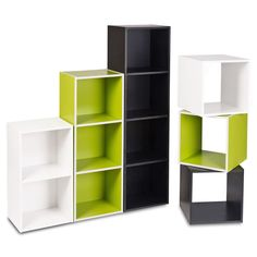 1, 2, 3, 4 Tier Bookcase Display Shelves Wooden Storage Shelving Unit Wood Shelf