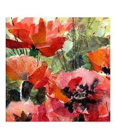 Tissue Paper Collage On Canvas | Tissue paper collage is one of my favorite projects to do with third ...