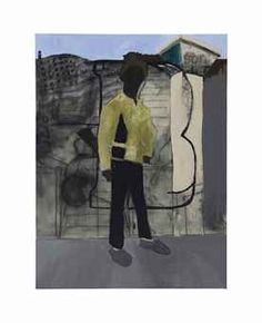 "Henry Taylor (B. 1958) ""The Young, the Brave, Bobby Hutton"" R.I.P. Oakland, California"