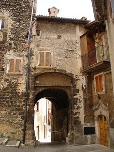 Old village Scanno Abruzzo Italy by Panoraman, via Flickr
