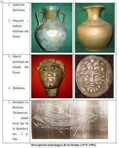 Traco Dacian artifacts found at Ocnita,Romania