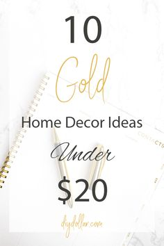 5 Tips for Trendy Home Decor on a Budget - Sweet Crib Gold Home Decor, Trendy Home Decor, Home Decor Bedroom, Cheap Home Decor, Modern Decor, Diy Home Decor, Modern Bathroom Light Fixtures, Home Addition Plans, Home Office Furniture