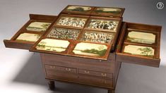 Macquarie Collector's Chest, ca. 1818    Inside this modest cedar chest is a riot of natural history specimens, artistically arranged and startlingly intact, collected in the Newcastle penal colony.   Find more detailed information about this photograph: http://acms.sl.nsw.gov.au/item/itemdetailpaged.aspx?itemid=442725  From the collection of the State Library of New South Wales: http://www.sl.nsw.gov.au