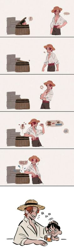 Luffy and Shanks - Funny Monkeys - Funny Monkeys meme - - Luffy and Shanks Monkeys Funny Luffy and Shanks The post Luffy and Shanks appeared first on Gag Dad. The post Luffy and Shanks appeared first on Gag Dad. One Piece Meme, One Piece Funny, One Piece Comic, One Piece Fanart, Anime Ai, Fanarts Anime, One Piece Pictures, One Piece Images, Es Der Clown