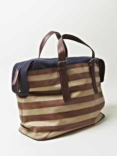 DRIES VAN NOTEN MENS TOTE LEATHER BAG
