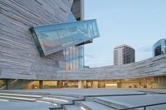 Perot Museum of Nature and Science, Dallas, Texas