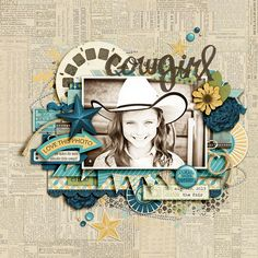 Cowgirl - Scrapbook.com