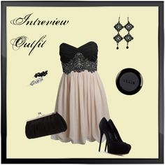 """""""Interview Outfit"""" by k10anubis ❤ liked on Polyvore"""