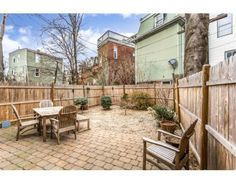 Entertain and relax on your private back patio