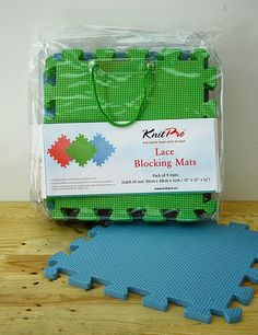Crochet: wet blocking tutorial