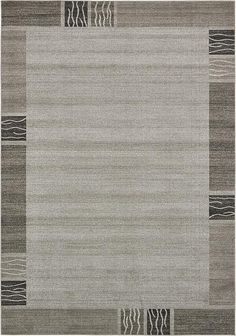 Light Gray Loft Area Rug