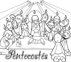 ¿Qué celebramos en Pentecostés? Ficha ¿Qué significa Pentecostés?: ...