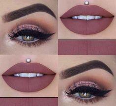 - Make-Up Makeup Eye Looks, Beautiful Eye Makeup, Eye Makeup Art, Natural Eye Makeup, Smokey Eye Makeup, Eyeshadow Makeup, Lip Makeup, Beauty Makeup, Hair Beauty