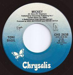 Mickey / Toni Basil / #1 on Billboard 1982