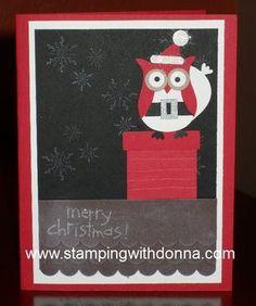 It's Santa Owl!