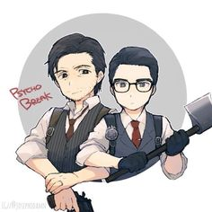 """Instagram media by josephodamn - x """"Guess you can say we're partners in crime, right Seb?"""" ~ - Good Morning! - ~ Artist's Pixiv ID: 228229"""
