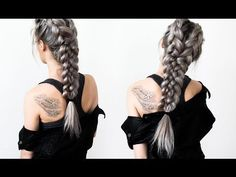 "Game of Thrones Hair - Daenerys Targaryen ""Pyre"" Scene - YouTube"