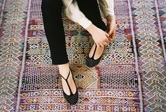 Make shoes like these from flats
