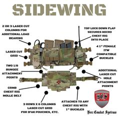 Beez Combat Systems SIDEWING and Chest Rig MOLLE Belt (CRMB). #beezcombatsystems #SIDEWING #microchestrig #bcs #fightlight #spiritussystems #rdrgear #haleystrategic #IFAK #CRMB #chestrigmollebelt #berrycompliant #milsim #milspec #baofeng #fenggang #pewpewlife #pewpew Chest Rig, Tactical Vest, Us Army, Rigs, Weapons, Belt, Tactical Vest Carrier, Weapons Guns, Belts
