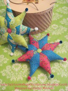 Sew Simple Star Pincushion « Moda Bake Shop