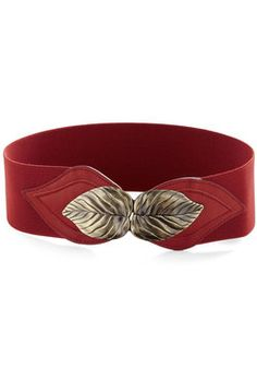 Cant Leaf It Be Belt in Brick, #ModCloth