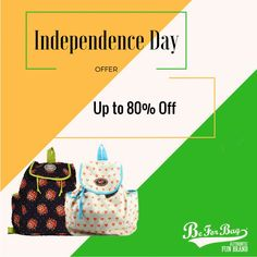 Independence Day special offer, upto 80% off #bags #offers #backpacks #totes