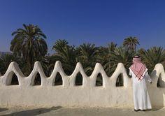 Traditional house in Najran - Saudi Arabia