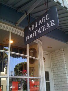Village Footwear on Larchmont Boulevard in Los Angeles