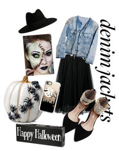 """Trick Or Treat"" by dantzlerjazmin on Polyvore featuring Yves Saint Laurent, Valentino, Runwaydreamz, Improvements and Casetify"