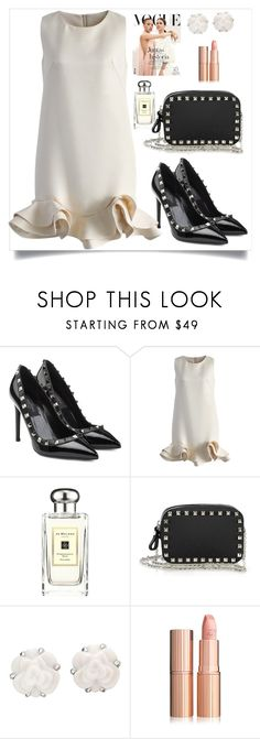 """""""Untitled #198"""" by nuki-samson ❤ liked on Polyvore featuring Valentino, Chicwish, Jo Malone and Chanel"""