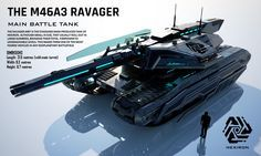 Ravager Main Battle Tank (FULL HD) by on DeviantArt - Best of Wallpapers for Andriod and ios Futuristic Technology, Futuristic Cars, Army Vehicles, Armored Vehicles, Nave Star Wars, Starship Concept, Future Weapons, Sci Fi Ships, Sci Fi Weapons