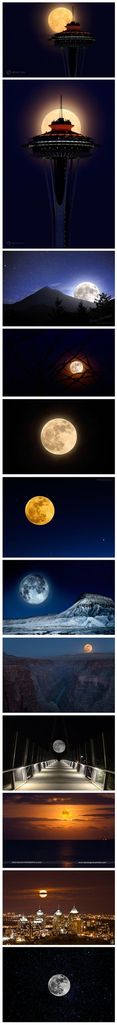 An Incredible Collection of the Best Supermoon Images of 2012