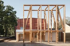 Architecture Today, Contemporary Architecture, Zaha Hadid, Francis Kere, Modular Cabins, Newcastle University, Victorian Buildings, Timber Structure, Outdoor Education