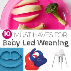 Are you getting ready to start solids with your little one? Think Baby Led Weaning is right for you? Make sure you're prepared with all the right gear! This week on the blog I'm sharing my top 10 must-haves! #Linkinprofile * * #familystylenutrition #babyl