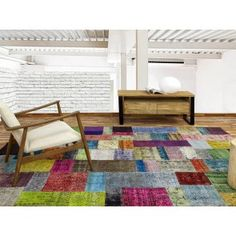 Alfombra Patchwork 17RE Multicolor de Parentesi Quadra en Tendenza Store