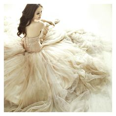 Cecilia's Fairytale Portrait Session….with Baby Bunnies! ❤ liked on Polyvore