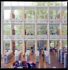 Malmo Public Library by Gustaf Emanuelsson, via 500px.